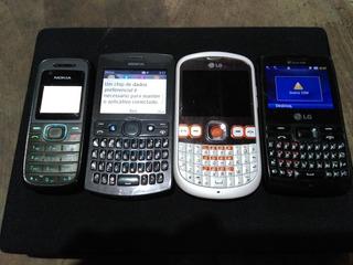 Celulares Antigos LG Nokia Leia Descrição!!