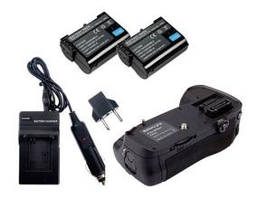 Battery Grip P/ Nikon D600 D610 + 2 Baterias + Carregador