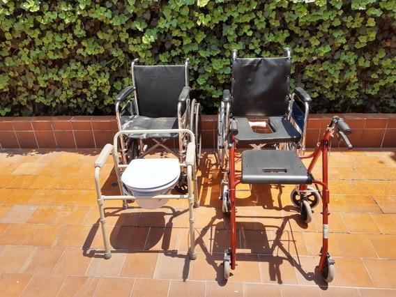 Remato!!! Equipo De 3 Articulos Para Personas Invalidas