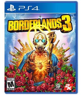 Borderlands 3 Ps4 + Extra Fisico Y Sellado Envio Rapido