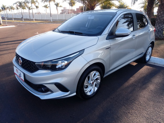 Fiat Argo Drive Gsr 1.3 8v Prata 2018