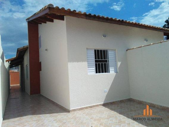 Casa Residencial À Venda, Jardim Corumbá, Itanhaém. - Ca0185