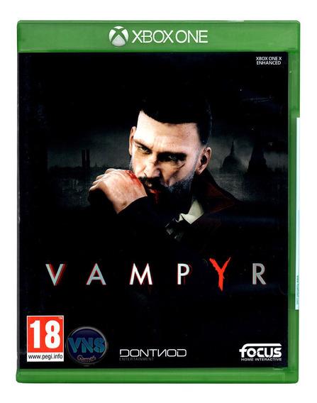 Vampyr - Xbox One - Xone - Rpg - Lacrado - Mídia Física