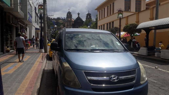 Hyundai H1 2008 Celeste Otavalo 5 Puestas