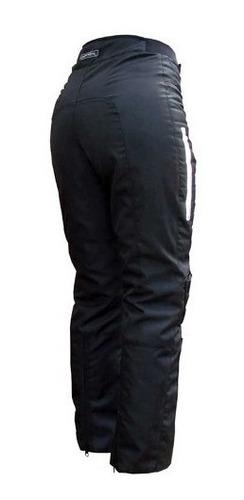 Pantalon Moto Upper Dama Protecciones Abrigo Motoscba