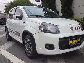 Fiat Uno 1.4 Sporting Flex 2012 Branco Completo