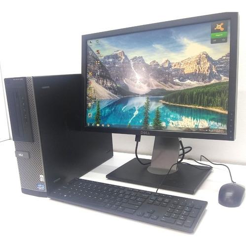 Equipo Completo Dell  Core I5  8gb/1 Tb Monitor 22¨ Wifi