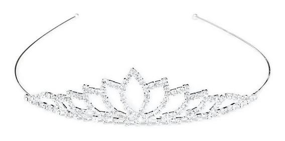 Tiara Noiva Strass Coroa Princesa Noiva Casamento Festa