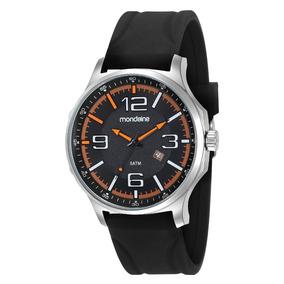 Relógio Mondaine Masculino Pulseira Silicone 83377g0mvni1