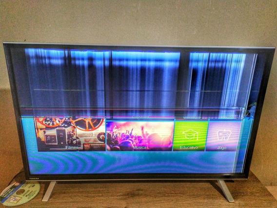 Smart Tv Toshiba 32l2600 Wifi Netflix Youtube Hdmi Usb