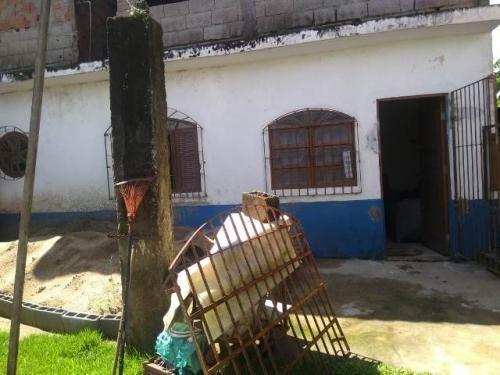 Casa No Balneário São Jorge, Em Itanhaém, Ref. C0602 L C