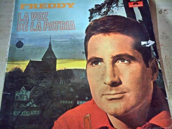 Vinilo Freddy La Voz De La Patria