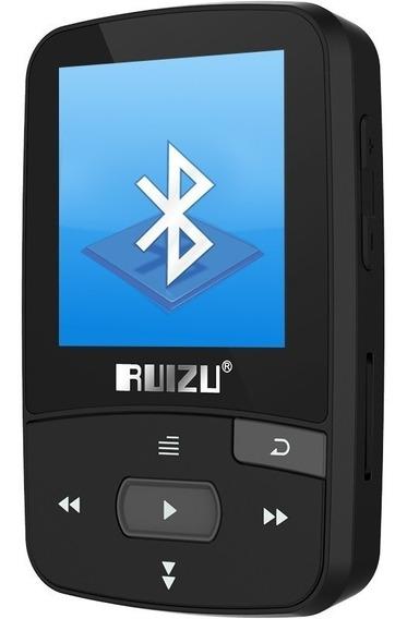 Mp4 Mp3 Player Bluetooth 4.0 Ruizu X50 8gb Rádio Fm E-book
