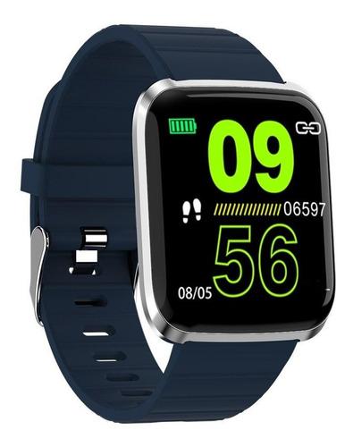 Imagen 1 de 8 de Reloj Inteligente Smart Watch 116 Pro Lcd Original Fralugio
