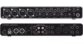 Interfaz De Audio Externa Behringer Umc404 Hd Playback