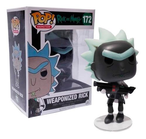 Pop  Compatible Rick And Morty Rick 172 Colores En Fuga Kids
