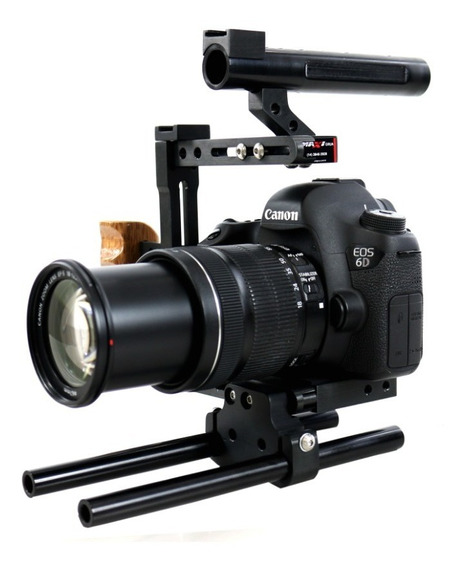 Cage Gaiola Longarinas Dslr Sony Canon Nikon Etc