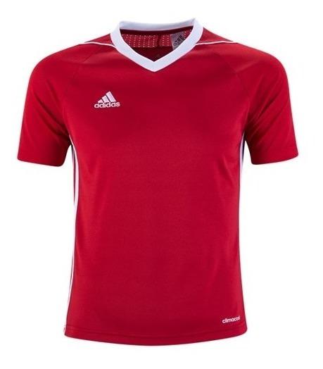 Playera adidas Para Jugar Futbol ,tennis Rojo