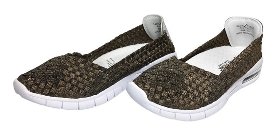 Zapatillas Mujer Lady Stork Kate Air (bronce)