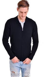 Campera De Lana Hombre Sweater Pullover Saco Cierre Kierouno