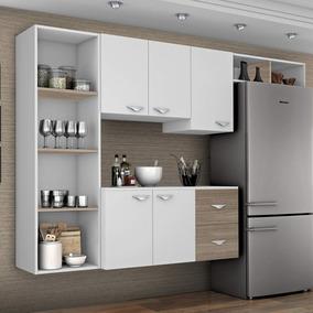 Cozinha Compacta 4 Peças 5 Portas Anabela Siena Ijwt