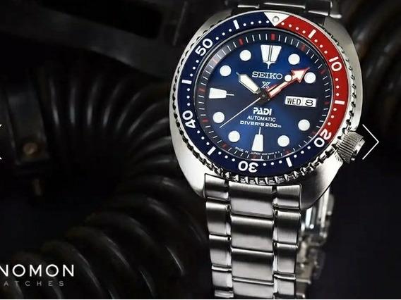Relógio Mergulhador Seiko Prospex Padi Turtle 200m Automatic