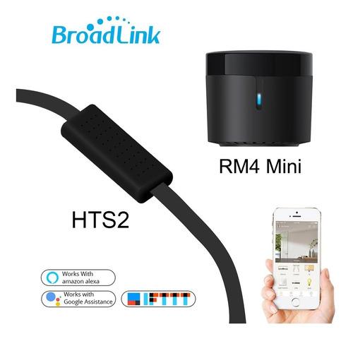 Broadlink Rm4 Mini Control + Cable Hts2 Usb/sensor Temp-hum.