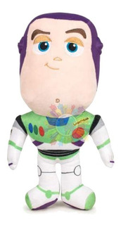 Peluche Toy Story 4 Cabezon Sonido Disney 30cm Buzz Cuotas