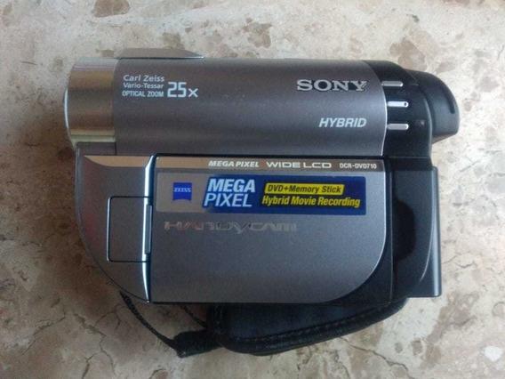 Filmadora Sony Handycam Dcr-dvd 710 Super Nova!