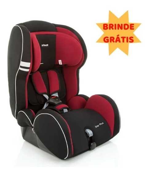 Cadeira Auto Reclinável Star Plus Cherry 9 A 36kg - Infanti