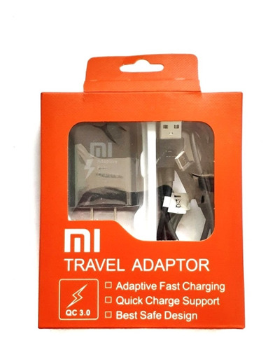Cargador Xiaomi Mi + Cable Tipo C Carga Rapida Original
