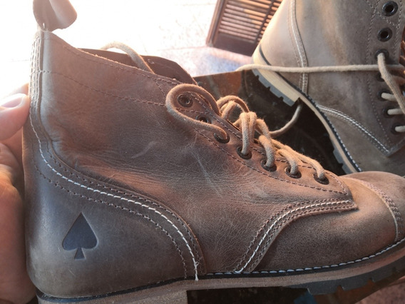 Botas De Couro Mcd Boots Beckman Marrom - 43