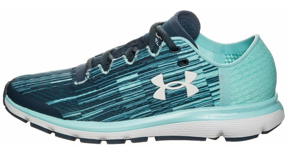 Tenis Under Armour Speedform Velociti Graphic Dama - New