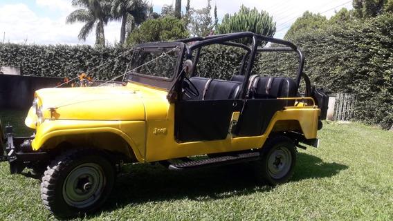 Jeep Willys Cj 6 Bernardão 4 Portas Original Raridade!!!