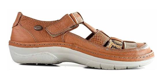 Zapatilla Cuero Mujer Briganti Zapato Mocasin Mczp05259