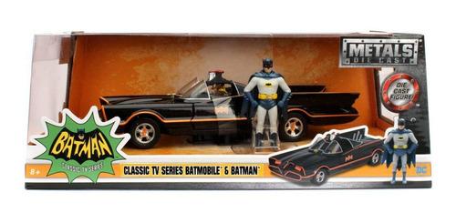 Imagem 1 de 3 de Veiculo Batmobile Com Figura 1966 1/24