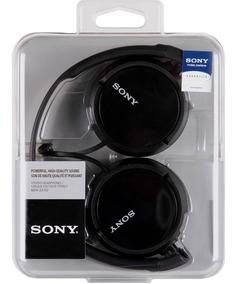 Fone De Ouvido Sony Mdr-zx110 Preto (produto 100% Original)
