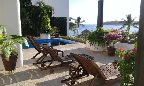 Villa Palmera En Bahías De Huatulco, Exclusiva Ubicación