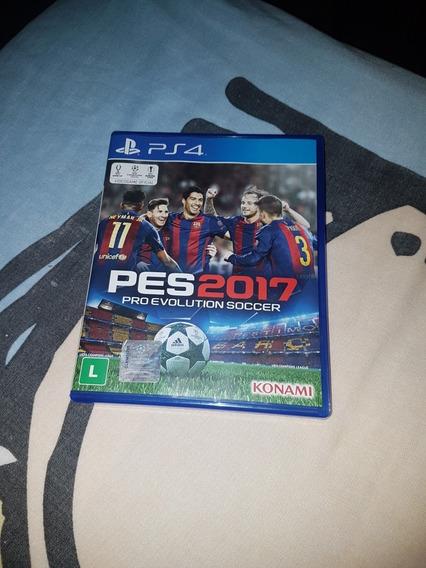 Pro Evolution Soccer 2017 Ps4 (pes17) Novo !
