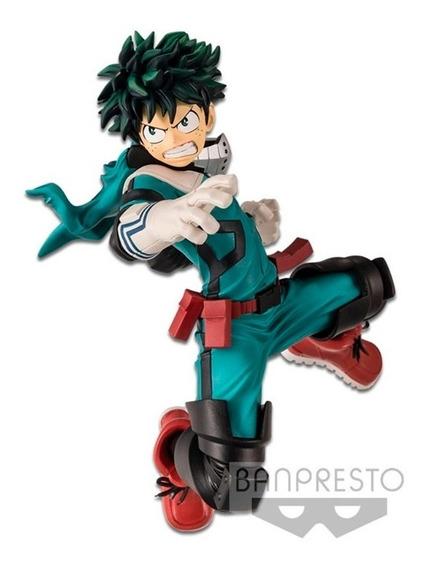 Figura Izuku Midoriya My Hero Academia Banpresto Bandai /u