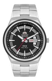 Relógio Orient Masculino 469ss081 P1sx Automático Prateado
