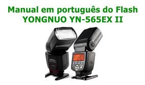 Manual Em Português Do Flash Yongnuo Yn-565ex Ii