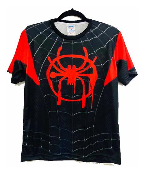 Camiseta Homem Aranha Miles Aranhaverso