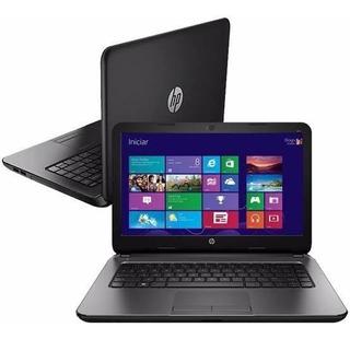 Laptop Hp 240 G7 Dual Core 4gb 500gb 14 Wifi 2tb Nube