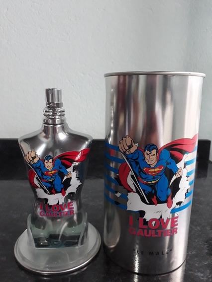 Jean Paul Gaultier Lê Male Superman Usado Volumetria 123ml