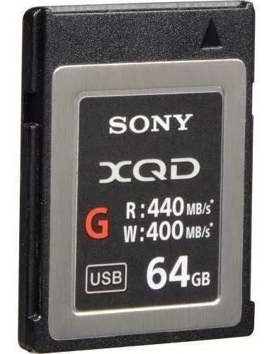 Memoria Xqd Sony 64gb Qd G Series Original (qd-g64e/j)