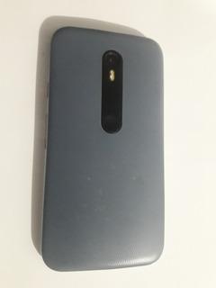 Moto G3 Usado C/ Defeito-(sem Bateria) Tela 100%boa