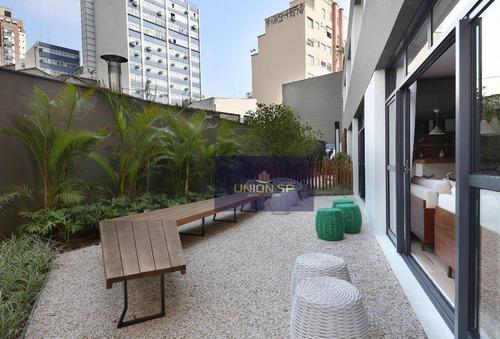 Studio À Venda, 45 M² Por R$ 585.000,00 - Bela Vista - São Paulo/sp - St0039