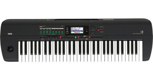Sintetizador Workstation Korg I3 Mb Matte Black 61 Teclas