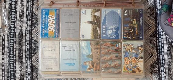 Coleção De Cartão Telefonico Com Cerca De 1258 Cartões